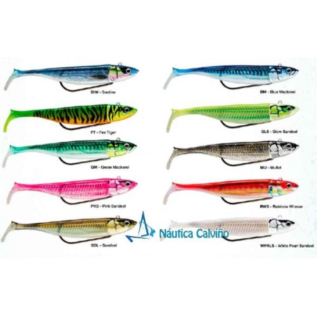 COMBO VINILO BISCAY SHAD 14 cm 60gr