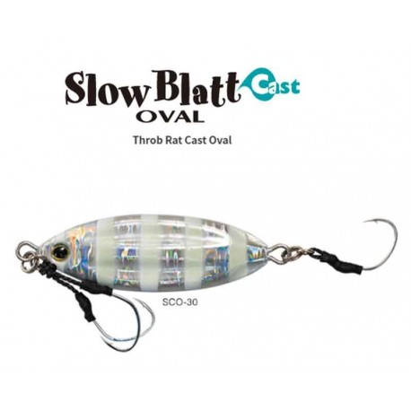 JIG PALMS SLOW BLATT CAST OVAL 40 GR 7.3