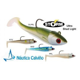 VINILO STORM ULTRA SHAD LIGHT 10cm 15gr