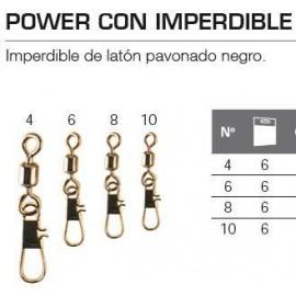 EMERILLON POWER CON IMPERDIBLE