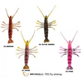 VINILO SAVAGE TPE FLY SHRIMP 5cm