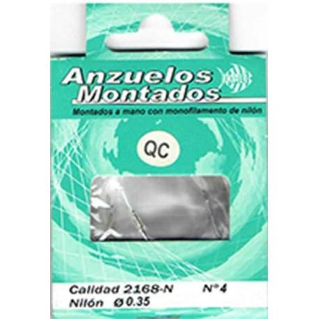 ANZUELO MONTADO NIQUEL 2168