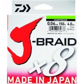 SEDAL TRENZADO JBRAID X8 150mts- CH