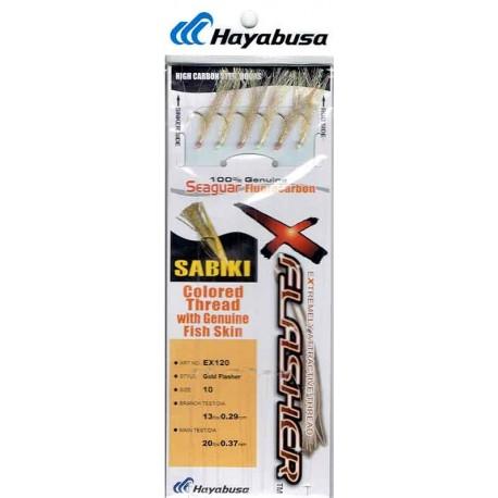BAJO SABIKI HAYABUSA GOLD FLASHER EX120