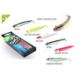 COMBO BLACK MINNOW 120 25gr