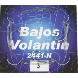 BAJO VOLANTÍN 3 ANZUELOS 2441